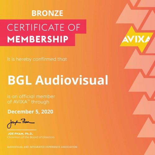 bgl-renews-for-one-more-year-its-membership-with-avixa-audiovisual-and-integrated-experience-association