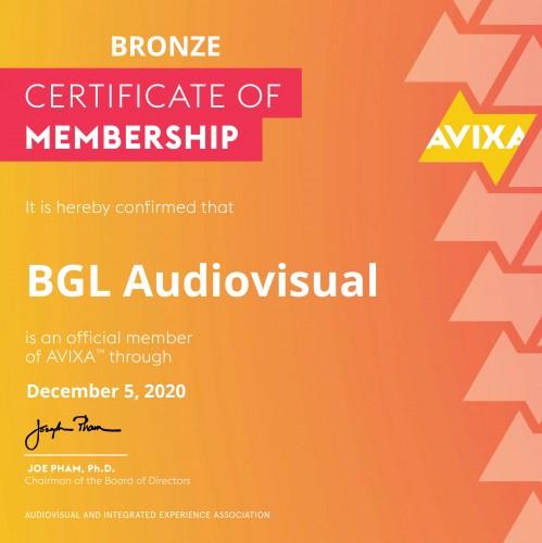 bgl-renueva-por-un-ano-mas-su-membresia-con-avixa-audiovisual-and-integrated-experience-association